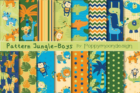 Pattern Jungle-papers