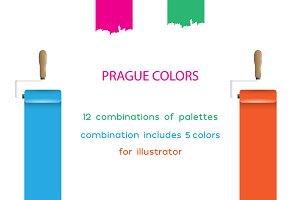 50 color palettes for branding color palettes creative market prague amazing swatches palettes fandeluxe Choice Image