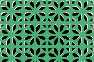 Moroccan Style Interlace Pattern