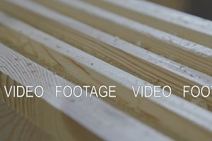 Production of laminated veneer lumber: mechanized production. P