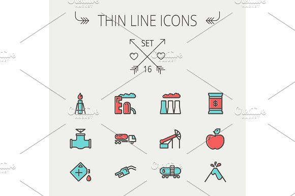 Ecology Thin Line Icon