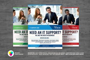 IT Services Flyer