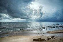 Storm on the Beach. Tarifa. Spain
