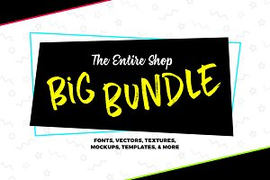 The Entire Shop Big Bundle - 99% Off