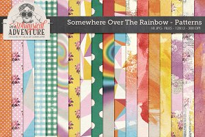 Somewhere O/T Rainbow Patterns