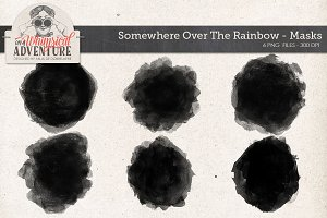 Somewhere O/T Rainbow Photo Masks