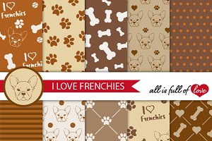 French Bulldog Brown Graphics