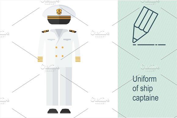 Uniform Of Ship Captaine