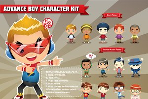 Advance Boy Character Kit