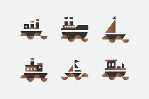 Boat Vectors