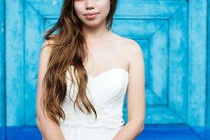 Young sensual bride