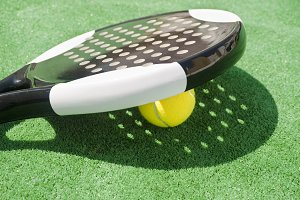 Paddle tennis objects