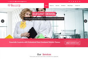 Becorp - Wordpress theme