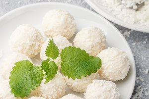 coconut candies