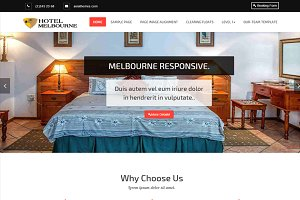 Hotel-Melbourne WordPress theme