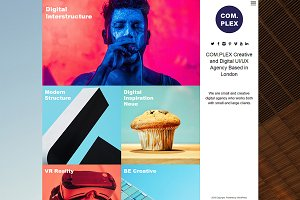 Complex Portfolio WordPress Theme