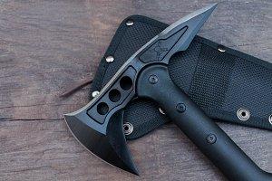 Tactical ax.