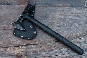 Army axe.