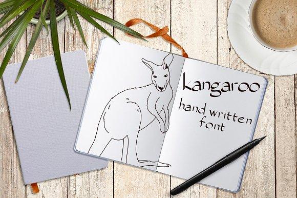 Kangaroo - Font No.6 - Fonts