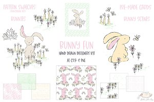 Bunny Fun Designers Kit