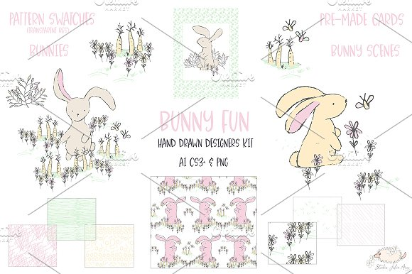 50% Off Bunny Fun Designers Kit