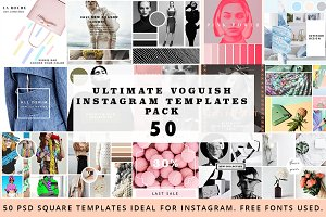 50 Voguish Instagram Pack