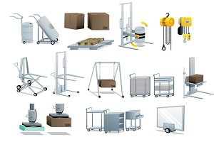 industrial equipment set