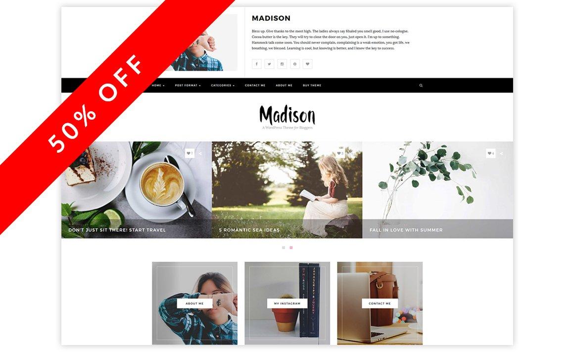 Gmail theme not showing - Madison A Wordpress Blog Theme