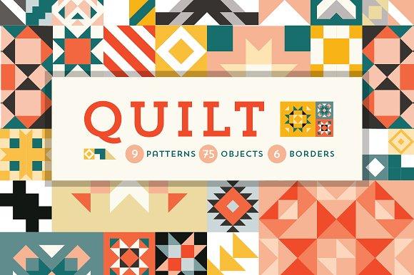 QUILT Geometric Patterns *SALE*