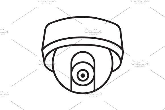 Cctv Hidden Camera Linear Icon