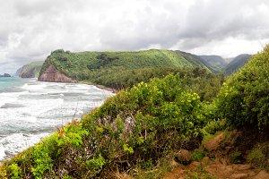 Pololu Valley, Big Island, Hawaii