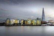City of London Skyline at sunset