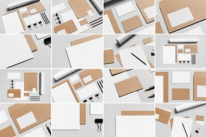 Stationery Mock-Up Photo Bundle 2