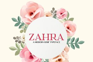Zahra Serif 6 Font Family Pack