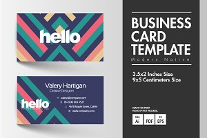 Business Card - Modern Native