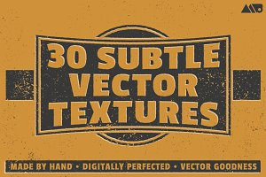 30 Subtle Vector Textures