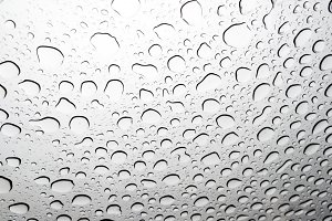 Close-up of raindrops on a glass