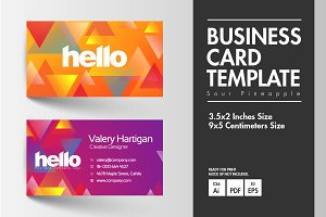 Business Card - Sour Pineapple