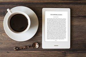 E-book Reader,MockUp