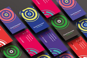 7 Photographer Business Cards + Logo