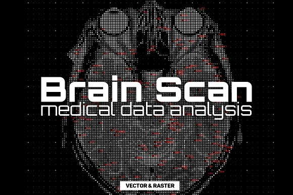 Brain Scan Abstract Backgrounds