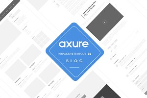 Web wireframes user flow templates creative market for Axure tablet template