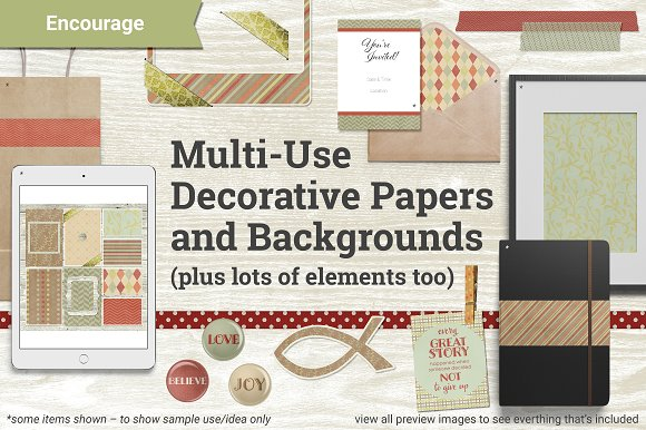 Encourage Papers And Elements