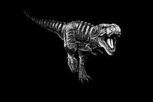 tyranosaur rex attack