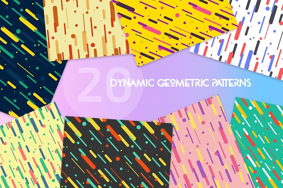 20 Dynamic Geometric Patterns