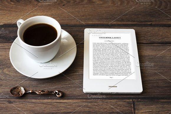 E-book Reader MockUp