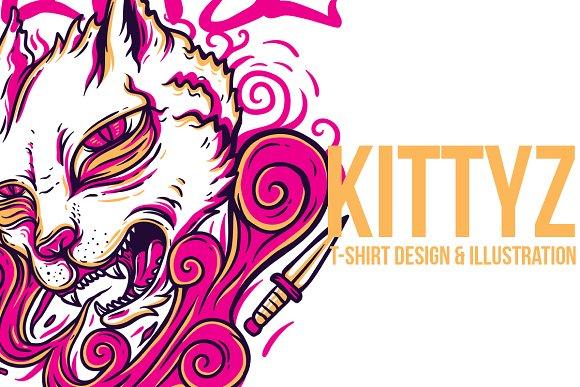 Kittyz Illustration