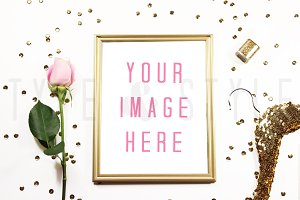 Styled Stock Photo - Framed Mock up