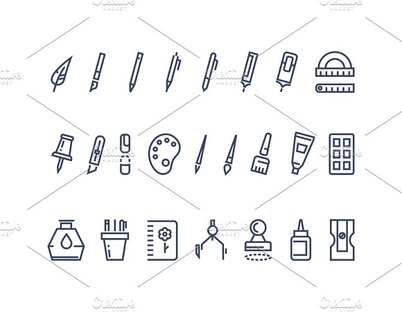 Drawing and writing tools