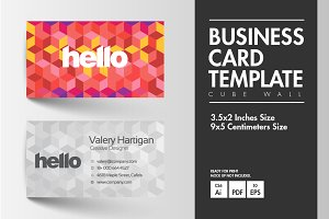 Business Card - Wall Cube